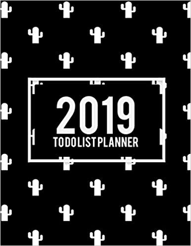 2019 To Do List Planner: Beauty Black Book, 2019 Weekly Monthly To