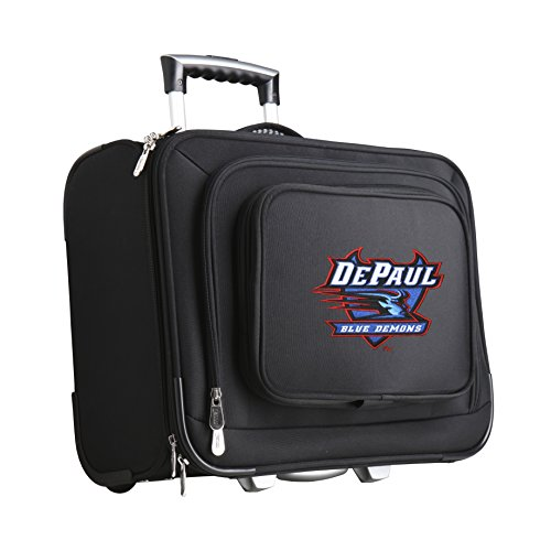 NCAA Depaul Blue Demons Wheeled Laptop Overnighter by Denco