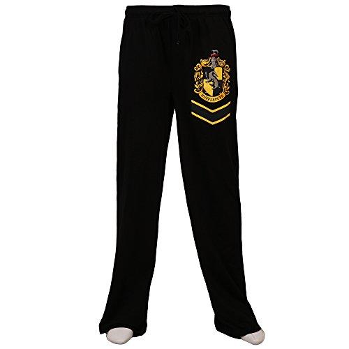 Harry Potter Hufflepuff Crest Lounge Pants - Black ()