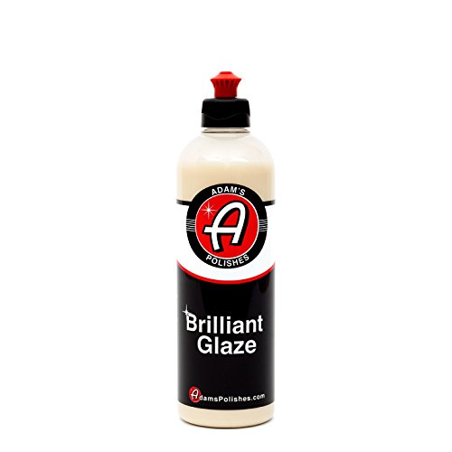 Adam's Brilliant Glaze 16oz - Amazing Depth, Gloss and Clarity - Achieve That Deep, Wet Looking Shine - Super Easy On and Easy Off (16 - Ounce Glaze 16