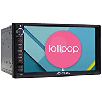 JOYING 7 Android 5.1 Lollipop Quad Core 1024600 Capacitive Touch Screen Double 2 Din Car Radio Bluetooth WiFi 1080P Aftermarket Auto GPS Navigation Head Unit Car Stereo