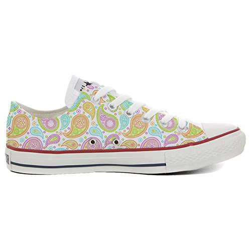 Colorful Slim Coutume Adulte All Converse Artisanal Paisley Star Chaussures Mixte produit qPxIEwzE