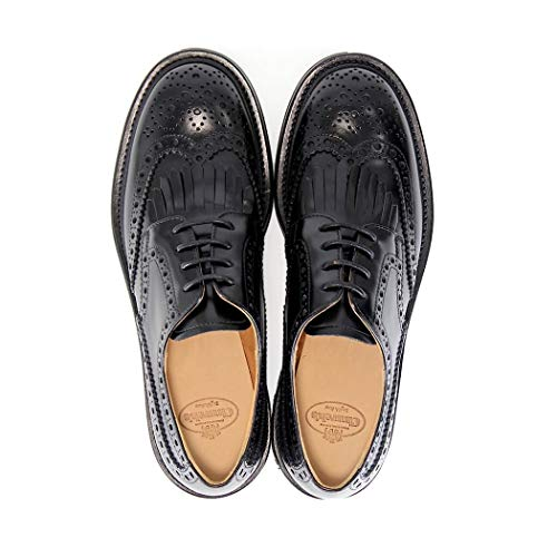 Eu À Chaussures de0019roiscalfblack Black Church's Lacets Femme 4wOPX