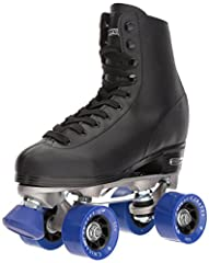 The Chicago Rink Skate features a controlled high top for optimum safety as well as high quality laces for maximum protection, leaving your foot comfortable and secure. The urethane wheels hold up well against the normal wear and tear of skat...