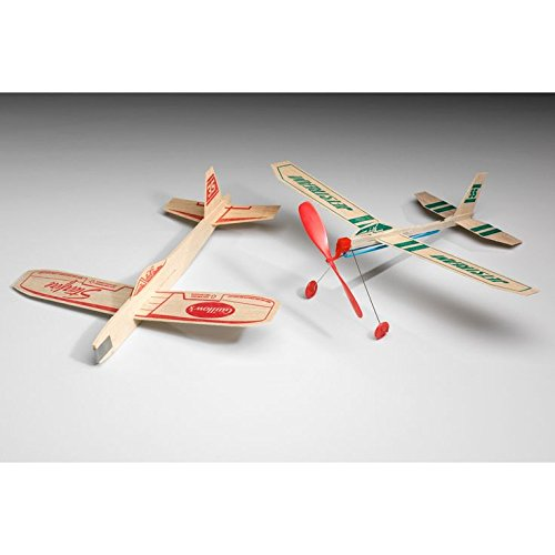 Guillow Squadron of Twelve Classic Balsa Wood Airplane Kits GRP-0126 by Guillow (Image #7)