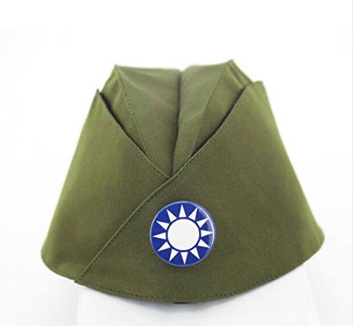Russian Army Cap Tricorne Green Camo Bonnet Star Logo Women Sailor Military Stage Performance Dance Hats Chinese Boat Caps 7