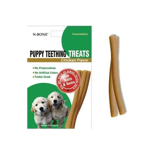 N- Bone Puppy Teething Treat 3.74 oz Size:Pack of 5