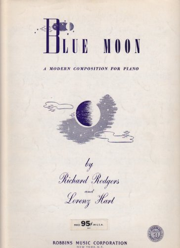 BLUE MOON A Modern Composition for (Blue Moon Piano Sheet)