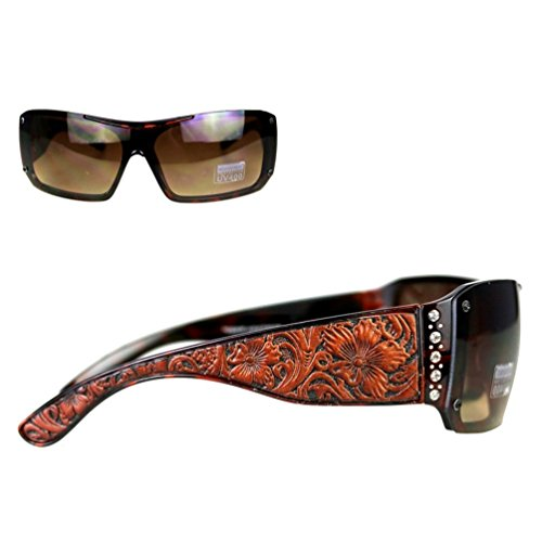 montana-west-ladies-sunglasses-rhinestones-vintage-floral-leather-tooling-uv400-leopard-frame-brown-