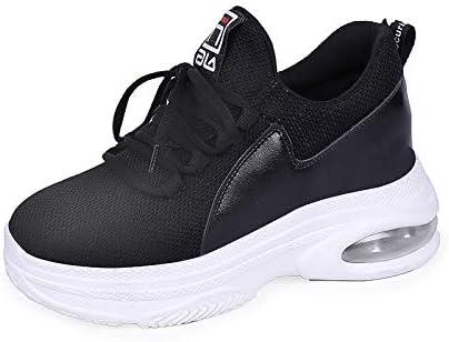 Shoe House Zapatillas Running Zapatillas Cómodo Transpirable Zapatillas Fitness Luz De Colchón De Aire Zapatos,Black,EU35/US5B(M)/UK3: Amazon.es: Deportes y aire libre