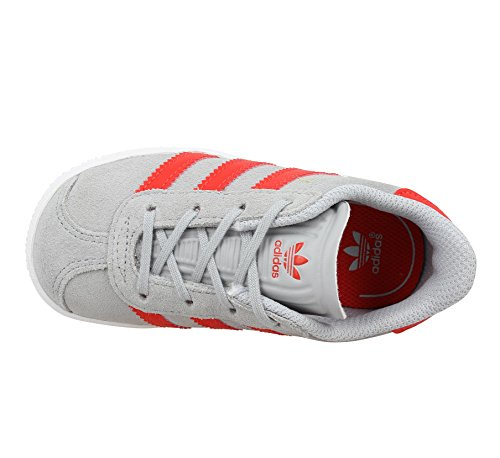 Adidas Originals Kinder Schuhe Gazelle Sneaker Grau (BB2514) Clonix/Red