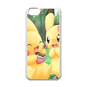 Pokemon Iphone 5C Cell Phone Case White 218y-057870