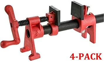Bessey BPC-H34 3//4-Inch H Style Pipe Clamp