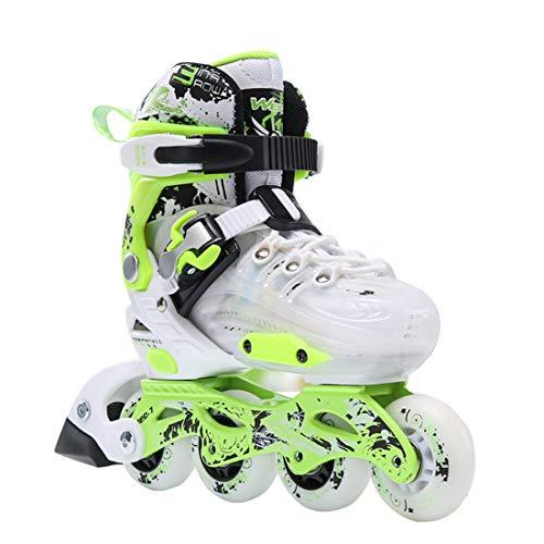 に付ける元の誰もNataly Osmann インラインスケート ローラースケート サイズ調節可能 キッズ 子供用 メッシュ 通気性抜群 ローラーシューズ