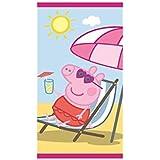Stamion S.A.. Peppa - Toalla, color rosa, talla 70 x 140 cm cm
