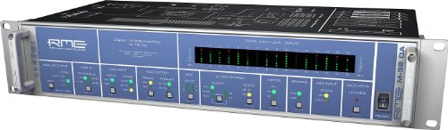 RME | Fully Symmetrical Designed 16-Channel High-End MADI/ADAT to Analog Converter, M-16 DA with MADI Technology Capable of 64 Channels (M-16 DA) by RME