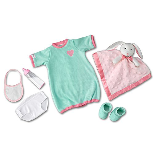 The Ashton-Drake Galleries Nighty, Night Baby Doll Accessory Set: Sleeper Clothes Set For So Truly Mine Dolls by
