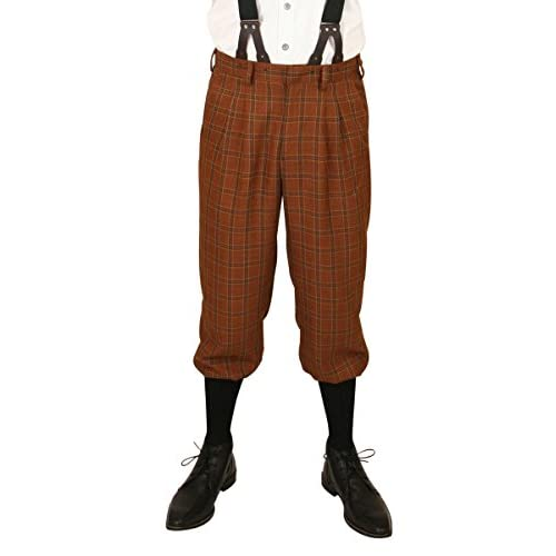 d3d23f5a47 good Historical Emporium Men's Harvey Plaid Knickers - books ...