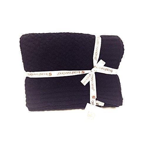 Kashwere Textured Basket Weave Pattern Throw 52