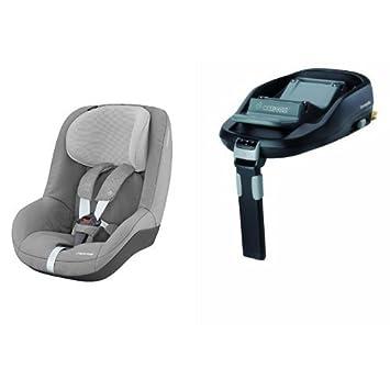 Maxi Cosi Pearl Car Seat Nomad Grey FamilyFix Base ISOFIX
