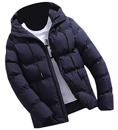 [해외]Coolred-남성 겨울 퀼트 후드 복어 따뜻한 지퍼 파커 재킷 코트 아웃 웨어를 유지 / Coolred-Men Winter Quilted Hooded Puffer Keep Warm Zipper Parka Jacket Coat Outwear