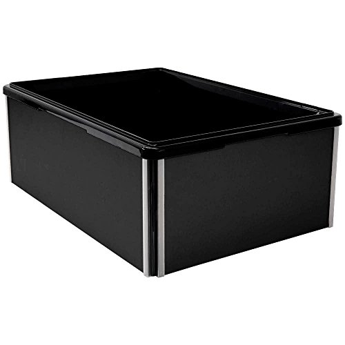TableTop king 010BEF90 Jumbo Black Folding Beverage Display - 36'' x 18'' x 10'' by TableTop king