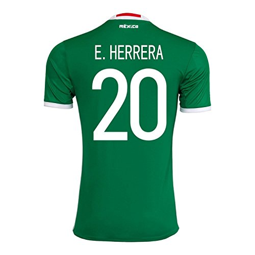 細分化する承認オークションadidas H. Herrera #20 Mexico Home Jersey Copa America Centenario 2016 - YOUTH/サッカーユニフォーム メキシコ ホーム用 ジュニア向け