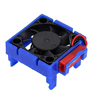 Power Hobbies Ph3000Blue Cooling Fan, for Traxxas Velineon Vlx-3 Esc, Blue: Toys & Games