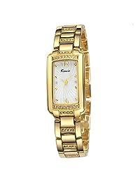 Wishar Hot KIMIO watch waterproof ladies fashion elegant square dial wrist watches Gold