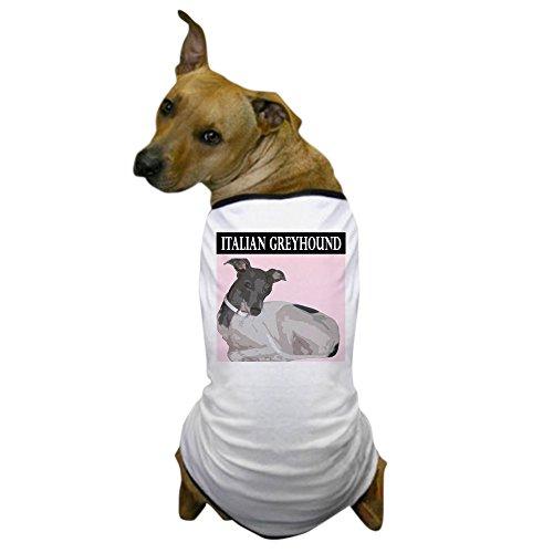 CafePress - Italian Greyhound Dog T-Shirt - Dog T-Shirt, Pet Clothing, Funny Dog (Greyhound Costumes)
