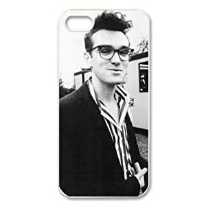 Imagination Cases Morrissey Hard Plastic CaseCover for iPhone 5/5s, Black/White - IMGCS291