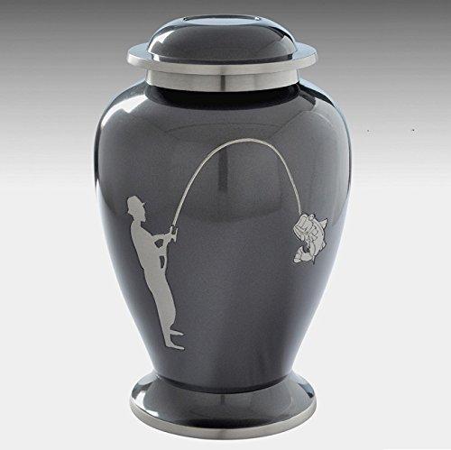 Memorials4u Brass Fishing Urn
