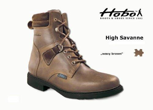 Hobo High Savanne, Farbe waxy brown, Größe 40