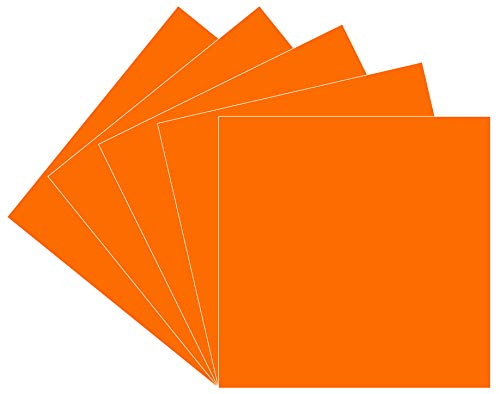 Orange Oracal 651 Vinyl, 5 Pack 12