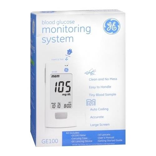 Amazon.com: GE Blood Glucose Monitoring System 1 EA - Buy Packs and SAVE (Pack of 5): Health & Personal Care