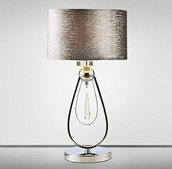 Lámpara De Mesa Lámpara Elegante Decoración De Cristal ...