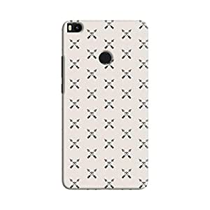Cover It Up - Crossed Arrows Mi Max 2Hard Case