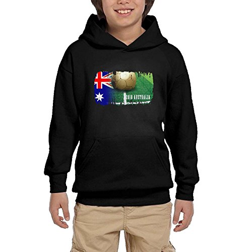 Australia Football 2018 Youth Unisex Hoodies Print Pullover Sweatshirts free shipping
