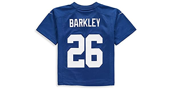 714c1ced9bc2d Amazon.com : NIKE Saquon Barkley New York Giants Team Color Toddler ...