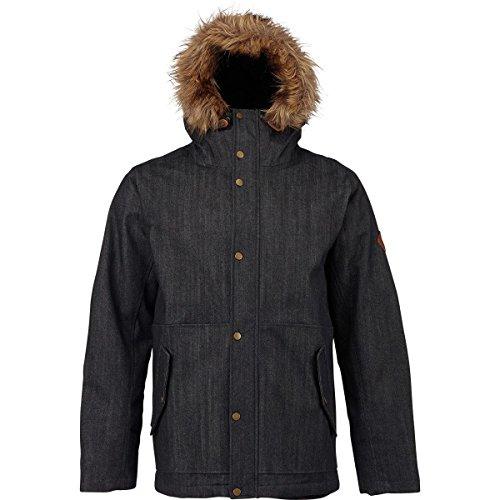 Burton Men's Cruiser Down Jacket Black Denim L