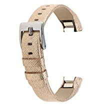 Austrake Leather Wristbands Replacement Bands for Fitbit Alta