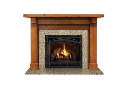 (Outdoor Lifestyles AFBDMPC Battlefield Flush Mantel in Primed MDF- 80