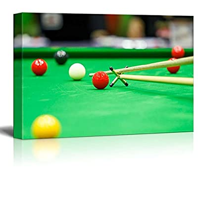 Magnificent Style, With a Professional Touch, Ball and Snooker Player Pool Billiards Game Wall Decor
