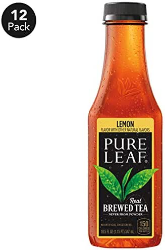 Bottled Tea & Tea Drinks: Lipton Pure Leaf Black Tea