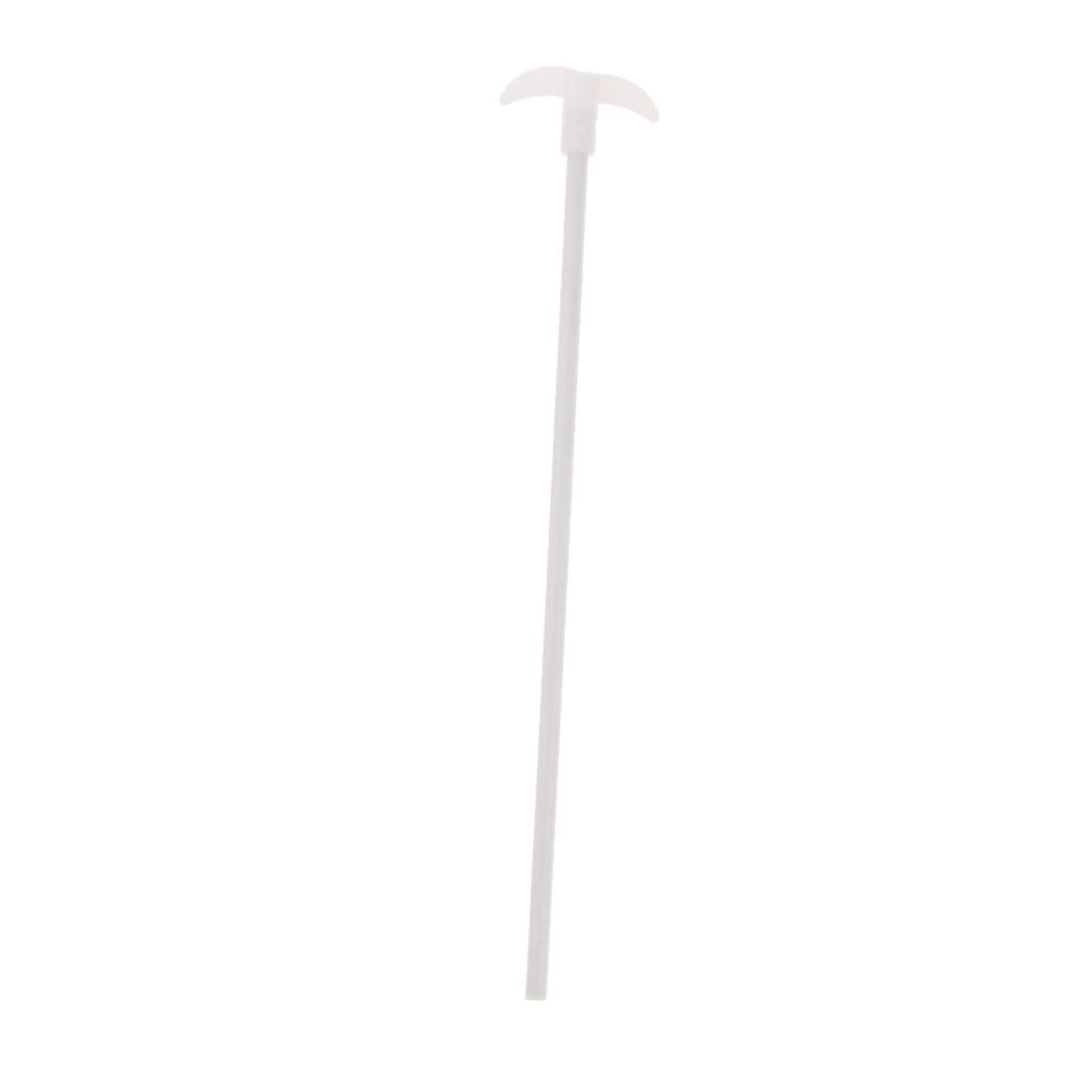 Homyl PTFE Coated Stainless Steel Stirring Paddle Stirring Rod for 100-200ml Flask High//Low Temperature Resistant