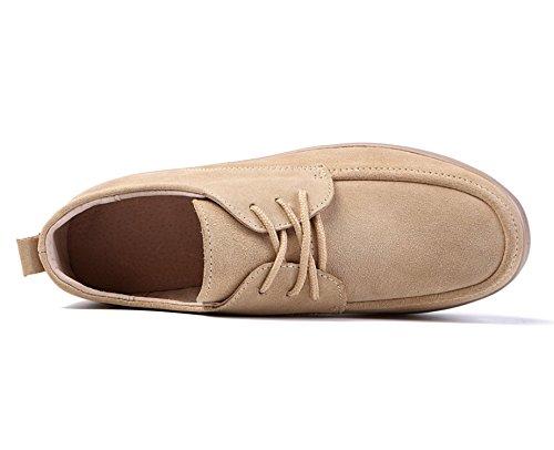 Confort Pour Le Quotidienne Mocassin Femmes Travail Suède Casuel Et Beige1 Plates I'usure Chaussures Lily999 6xwqZTp4