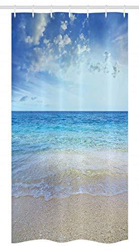 Buy shower curtain beach theme vinyl