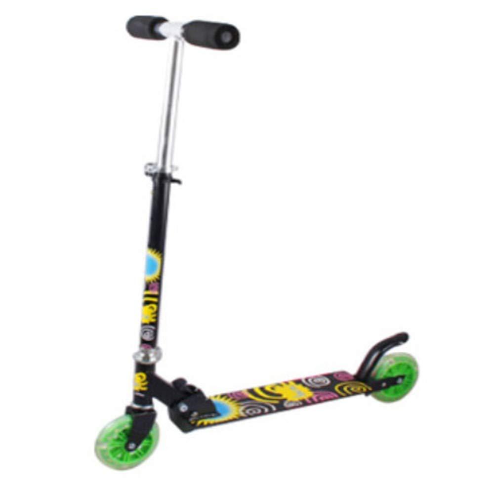 Mejor precio ZHIJINLI Scooter de Dos Ruedas Scooter Scooter Scooter Completo Flash de Aluminio de Soldadura Scooter de bebé Pedal  descuentos y mas