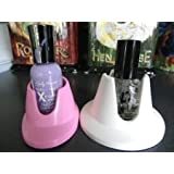 Nail Polish Holders (Oval & Round Style) (2 Pcs Total)