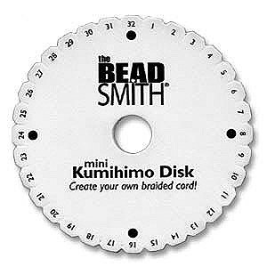 Kumihimo Mini Disk (4.25 Inch Diameter) with Instruction Sheet